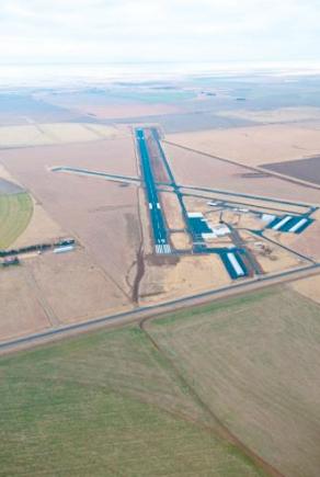 Aerial Airport Photo